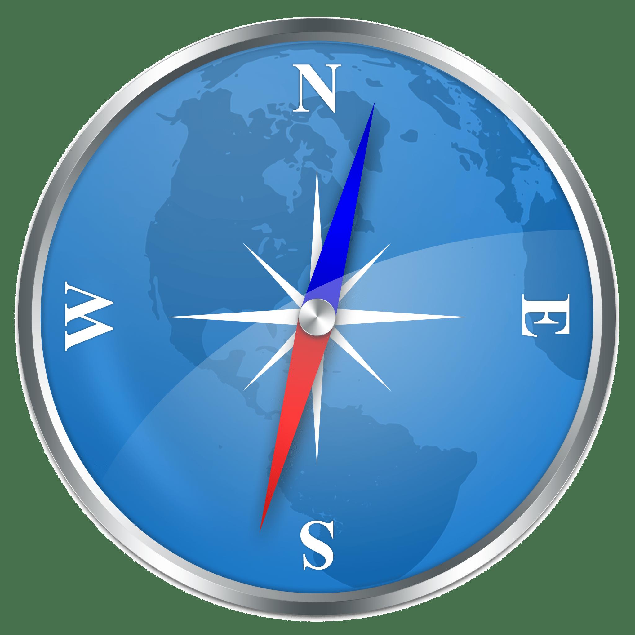 Kompass als Symbol für die Intuition